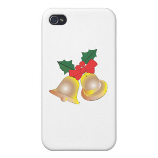 christmas bells iPhone 4 covers