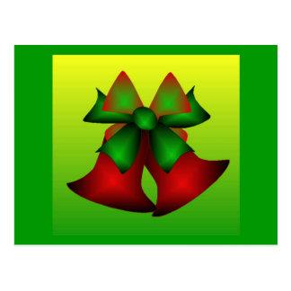 Christmas Bells IV Postcard