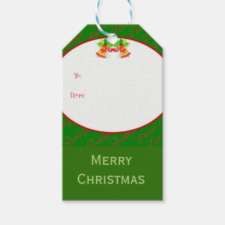 Christmas bells Merry Christmas Gift Tags