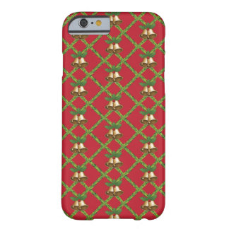 Christmas Bells Pattern Barely There iPhone 6 Case