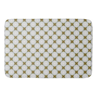 Christmas Bells Pattern Bath Mat