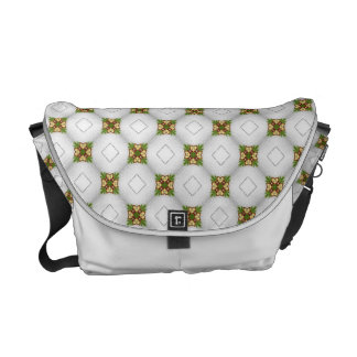 Christmas Bells Pattern Messenger Bag