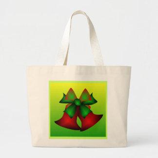 Christmas Bells V Jumbo Tote Bag