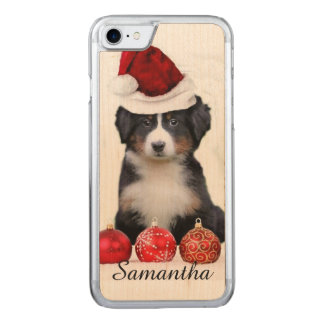 Christmas Bernese Mountain dog Carved iPhone 8/7 Case