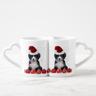 Christmas Bernese Mountain Dog Lovers Mug Set