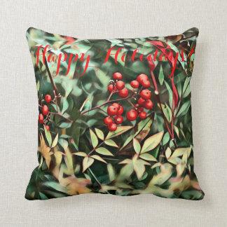 Christmas Berries Cushion