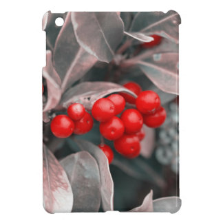 Christmas berries iPad mini covers