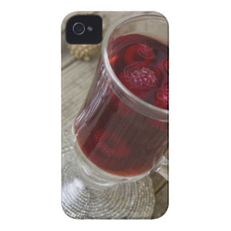 Christmas berries punch Case-Mate iPhone 4 case