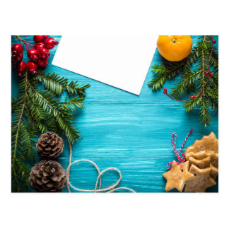 christmas-BG Postcard