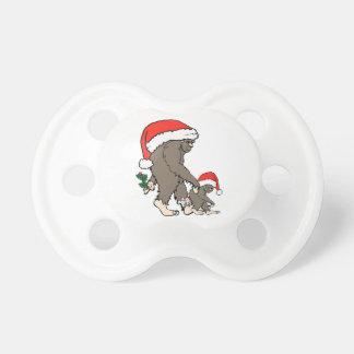 Christmas Bigfoot Family Dummy