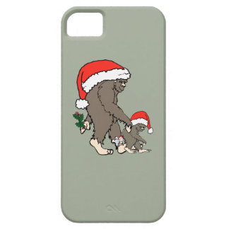 Christmas Bigfoot Family iPhone 5 Covers