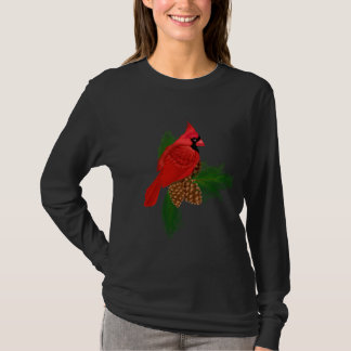 Christmas Bird Long Sleeve Nano t-shirt
