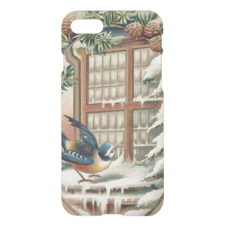 Christmas Bird Tree Pine Cone iPhone 7 Case