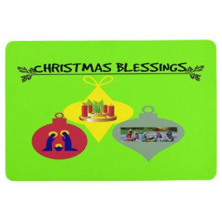 Christmas Blessing Floor Mat