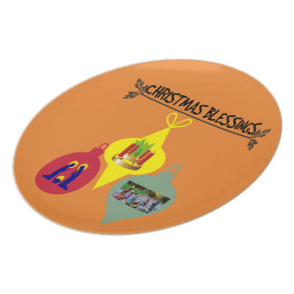 Christmas Blessing Plate