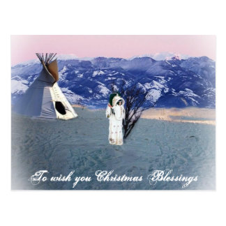 Christmas Blessing Postcard
