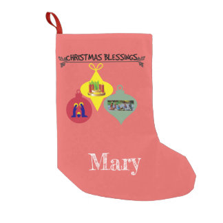 Christmas Blessing Small Christmas Stocking