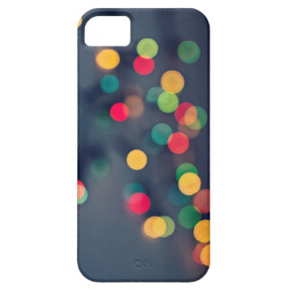 Christmas bokeh lights barely there iPhone 5 case