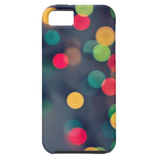 Christmas bokeh lights iPhone 5 case