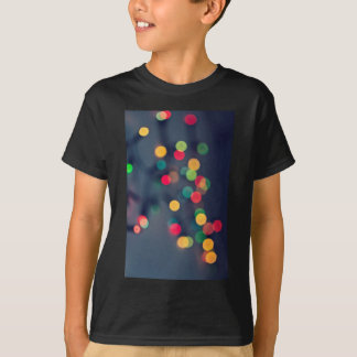 Christmas bokeh lights T-Shirt