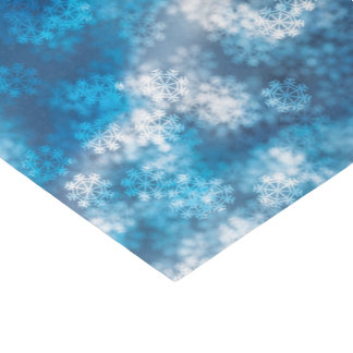 Christmas Bokeh Snow Tissue Paper