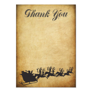 Christmas Bonus Holiday Thank You Card