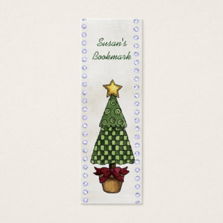 Christmas Bookmarks Mini Business Card