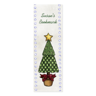 Christmas Bookmarks Pack Of Skinny Business Cards