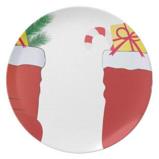 Christmas Boots Plate