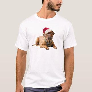 Christmas Bordeauxdog T-Shirt