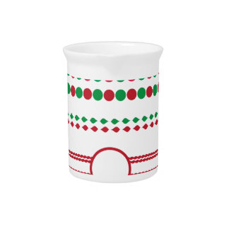 christmas borders frames holiday drink pitchers