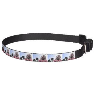 Christmas Boston Terrier Puppy Dog Collar