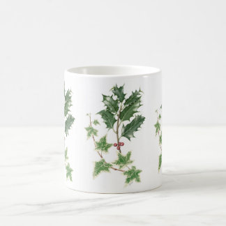 Christmas Botanical Holly & Ivy Mug