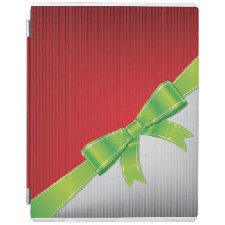 Christmas bow iPad cover