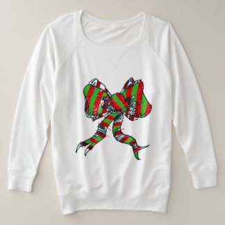 Christmas Bow Sweatshirt - for Women