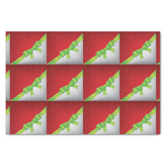 Christmas bow tissue paper