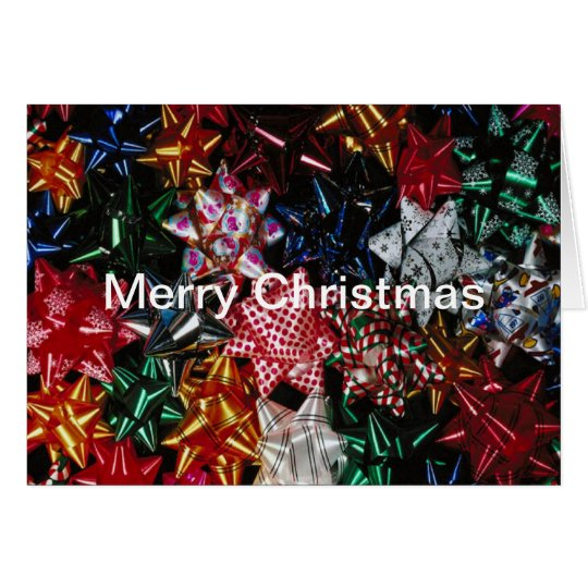 Christmas Bows - Note Card
