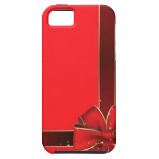 Christmas Bows Red iPhone 5 Case