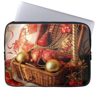 Christmas box - Christmas decorations Laptop Sleeve