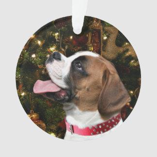 Christmas Boxer Ornament
