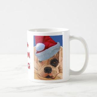 Christmas Boxer Pup Mug