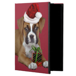 Christmas Boxer puppy  iPad Air 2 case