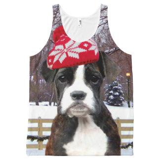 Christmas boxer puppy shirt