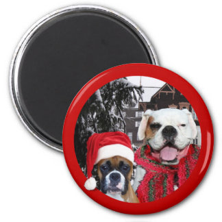 Christmas  boxers magnet