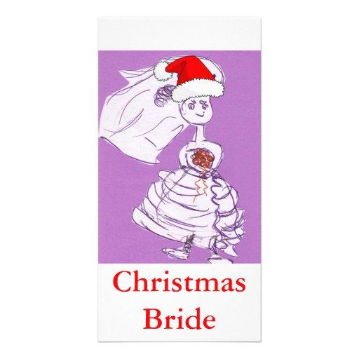 Christmas Bride Photo Cards