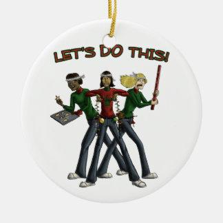 Christmas Brigade Ornament