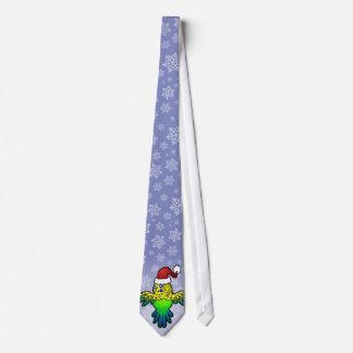 Christmas Budgie Tie