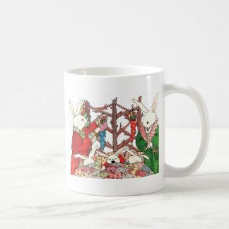 Christmas Bunny Family Mug Mug