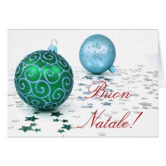 Christmas Buon Natale Greeting Card