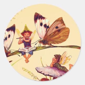 Christmas Butterfly Fairy Sticker